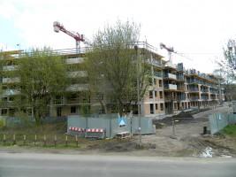 zdjęcie z budowy Dom Pod Wilgą