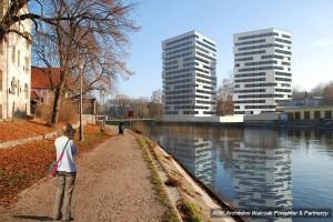 wizualizacje Apartamentowce nad Brdą