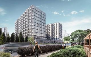 zdjęcie z budowy Nordic Sadyba