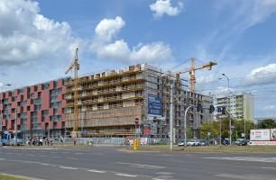 zdjęcie z budowy Pixel House
