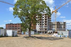 zdjęcie z budowy Browary Wrocławskie