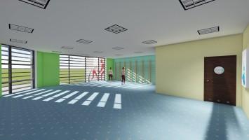zdjęcie z budowy Kostrzyńskie Centrum Szkolenia Zapaśniczego