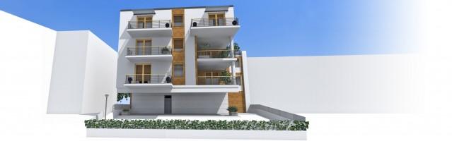 wizualizacje Apartamenty Zagajnikowa 25