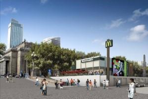 zdjęcie archiwalne McDonalds