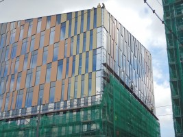 zdjęcie z budowy Biurowiec High5ive