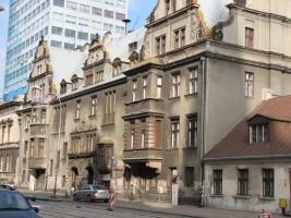zdjęcie z przebudowy Pałac braci Emila i Karola Steinertów