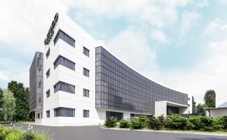 zdjęcie z budowy Asseco Innovation Hub