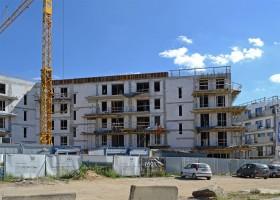 zdjęcie z budowy Nowy Port