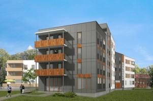 zdjęcie Budynek wielorodzinny Pileckiego
