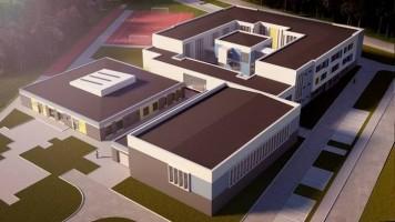zdjęcie z budowy Szkoła przy Zagajnikowej na Umultowie