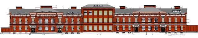 zdjęcie z przebudowy Akademickie Centrum Designu ASP