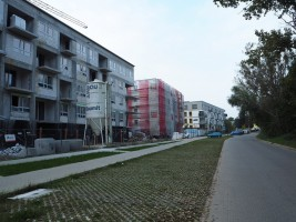 zdjęcie z budowy Śródmiejskie Ogrody