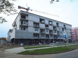 zdjęcie z budowy Osiedle Tenisowa