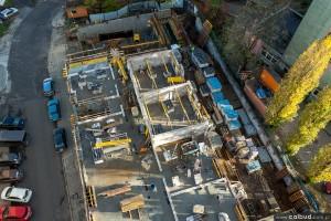 zdjęcie z budowy Apartamenty przy Odrze