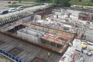 zdjęcie z budowy Przystań Letnica