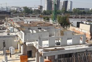 zdjęcie z budowy Krakowskiej 37