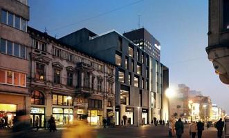 wizualizacje Piotrkowska Center