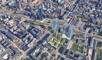 wizualizacje Towarowa Towers