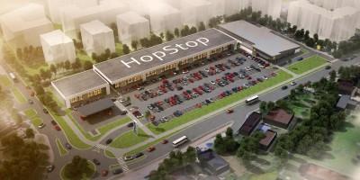 zdjęcie z budowy HopStop