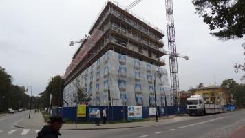 zdjęcie z budowy Dobosz Hotel Blue