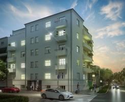 zdjęcie z przebudowy Wojskowa 25