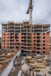 zdjęcie z budowy Alpha Park II