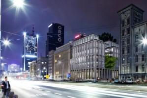 zdjęcie z budowy Nowogrodzka Square