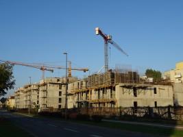 zdjęcie z budowy Apartamenty Dmowskiego