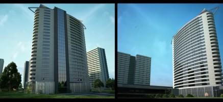 wizualizacje Apartamentowiec Ułańska