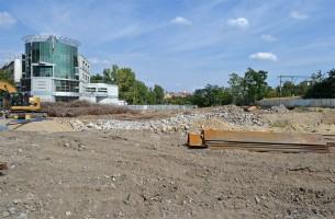 zdjęcie z budowy Kolejowa Business Point