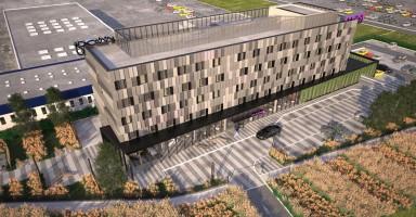 zdjęcie z budowy [Pyrzowice] Hotel Moxy by Marriott