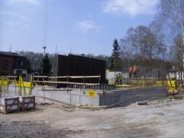 zdjęcie z budowy Awangarda Łagiewniki Park