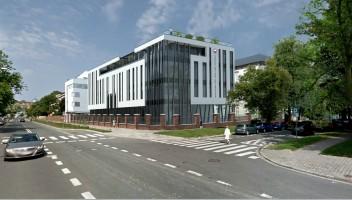 zdjęcie z budowy Polsko-Japońska Akademia Technik Komputerowych