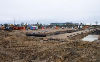 zdjęcie z budowy Ideal Idea City Park Wrocław
